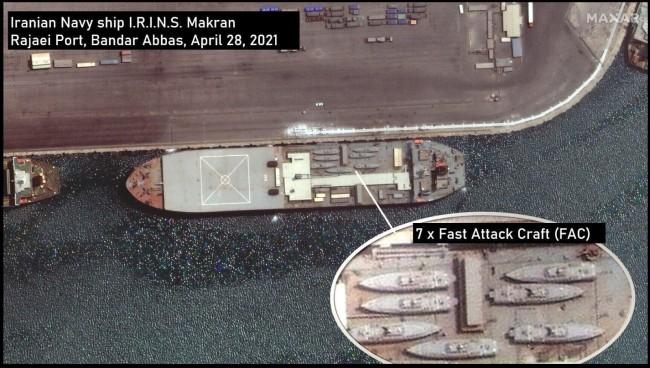 伊朗战舰要横渡大西洋 美警告不要进行武器转移