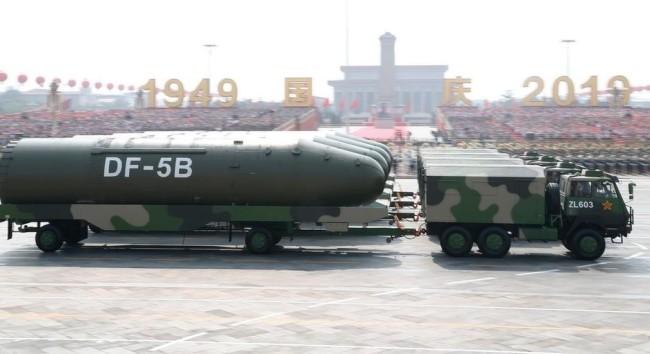"""美议员致信拜登鼓动制定战略""""应对中国核武建设"""""""