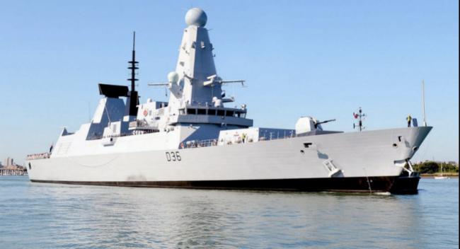 俄向英舰开火 是否证明英国海上雄狮已变老鼠?