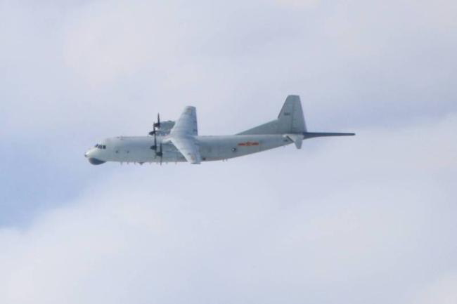 绿媒还在盯:解放军军机3日进入台西南空域