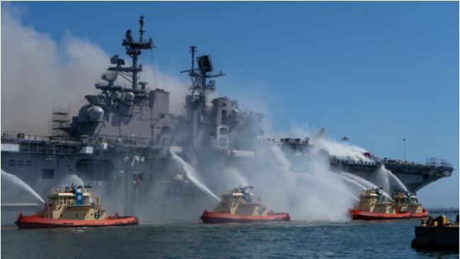 """""""好人理查德""""号火灾一年了,美国海军依然不解释"""