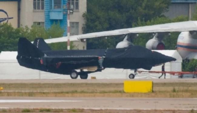 最新曝光的俄罗斯新型战斗机