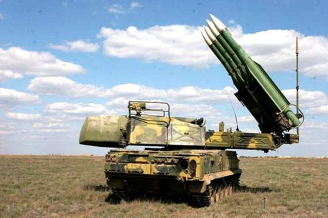 """""""山毛榉""""地对空导弹资料图,俄乌两国均有装备"""