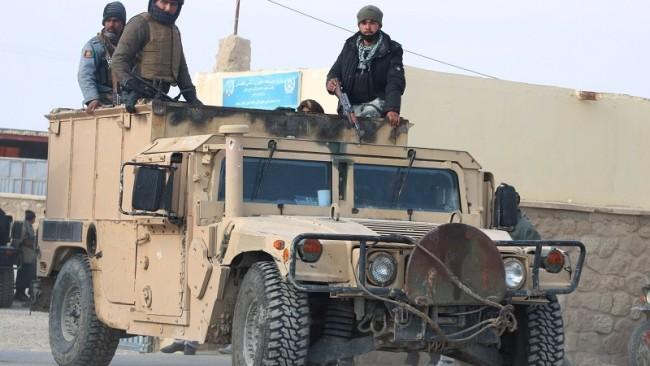 阿富汗政府军战略收缩力保大城市