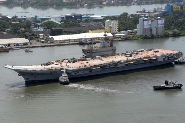 印度国产航母将用上美国舰载机?