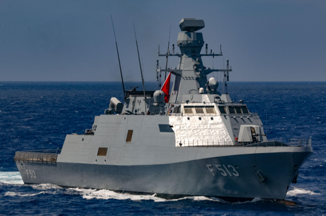烏克蘭訂購兩艘土耳其護衛艦,由兩國船廠共同建造