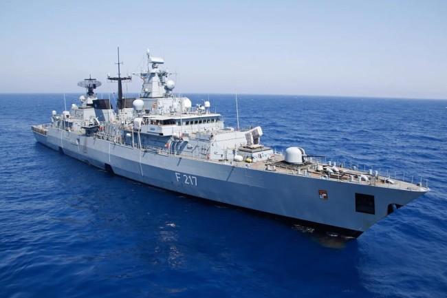"""德国海军""""巴伐利亚""""号护卫舰<br><br>"""
