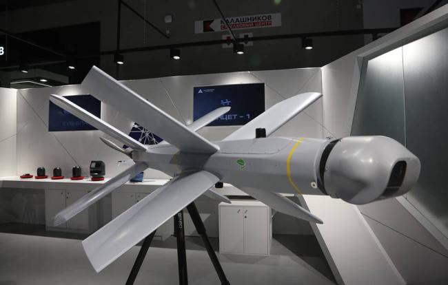 着眼未来,俄大力发展重型察打无人机