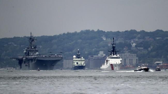 """美欲将无人战舰作为对抗中国海军""""王牌"""""""