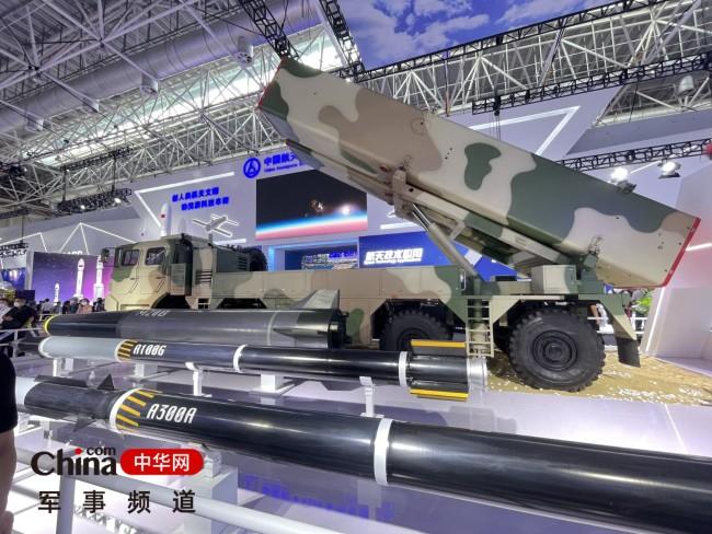 地面兵器馆-航天展台的地地战术打击武器