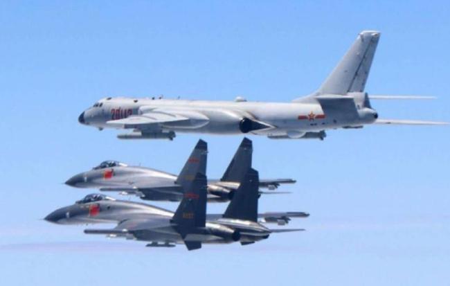外媒关注:解放军军机连续大规模巡台