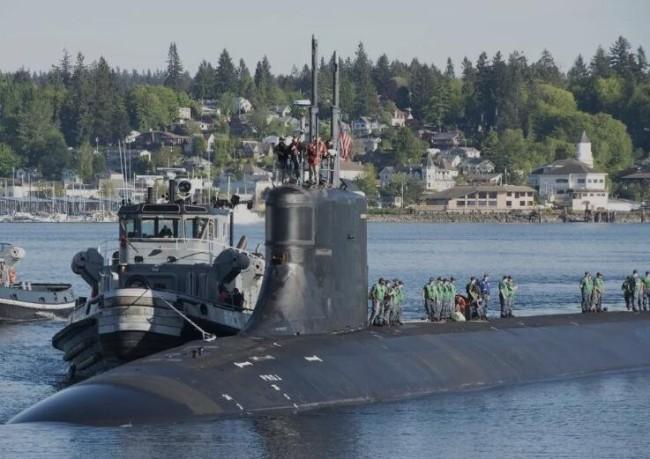 美国核潜艇撞上的到底是不是中国黄花鱼养殖箱?