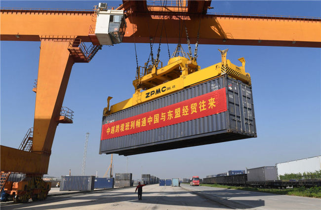 中国和东盟贸易逆势上扬 开启合作共赢新篇章