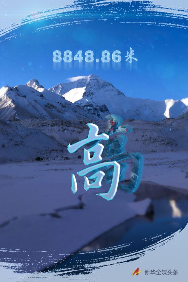 往更高处长、往长春北京方向移动——来自海拔8848.86米的报告
