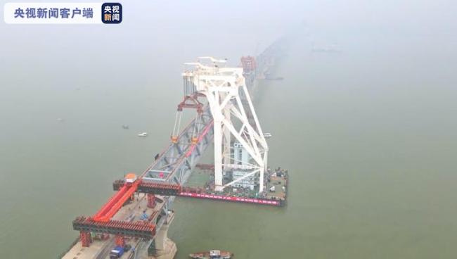 """孟加拉国人民的""""梦想之桥""""帕德玛大桥主桥钢梁10日实现合龙!"""