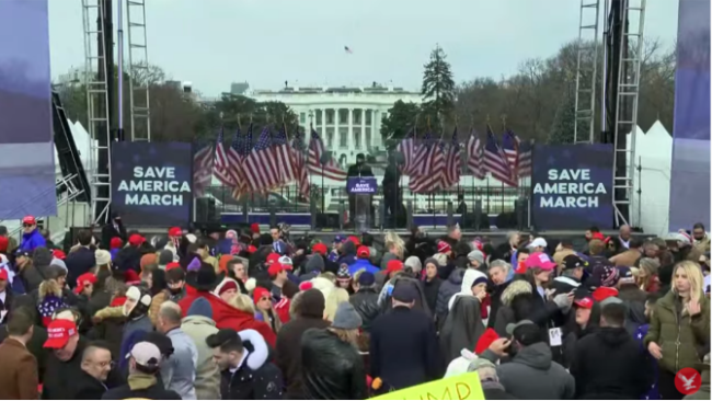特朗普还继续喊话副总统彭斯:我们永不退让