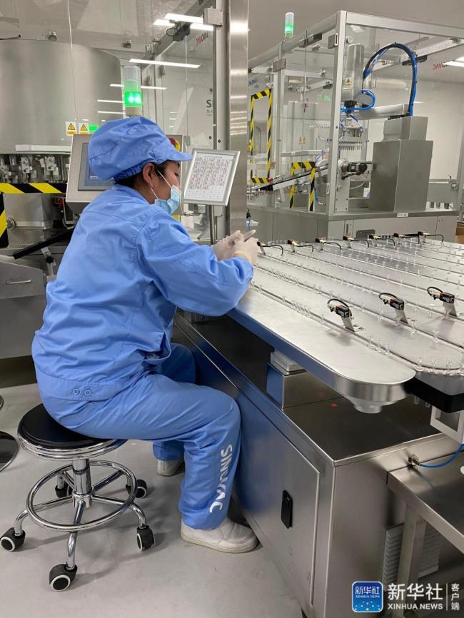 探访北京新冠疫苗车间:24小时生产不停歇