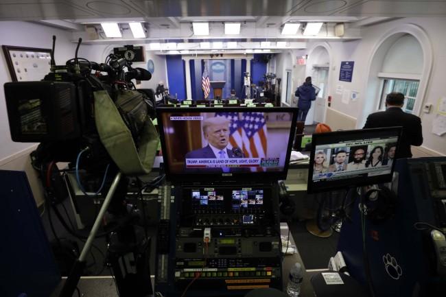 特朗普发表告别演讲:祝新政府能够成功保护美国的安全和繁荣