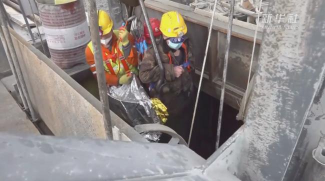 为了每一位被困矿工的生命——山东笏山金矿事故救援纪实