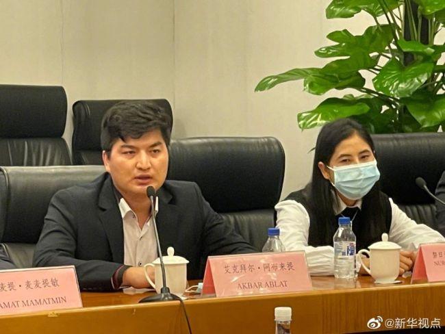 新疆小伙托媒体给蓬佩奥带话:新疆所有人都很讨厌他