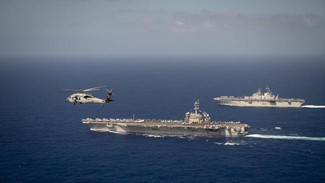 美国的航空母舰目前面对很大的部署空窗问题