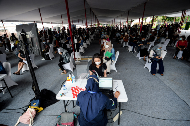 印尼:接种中国疫苗