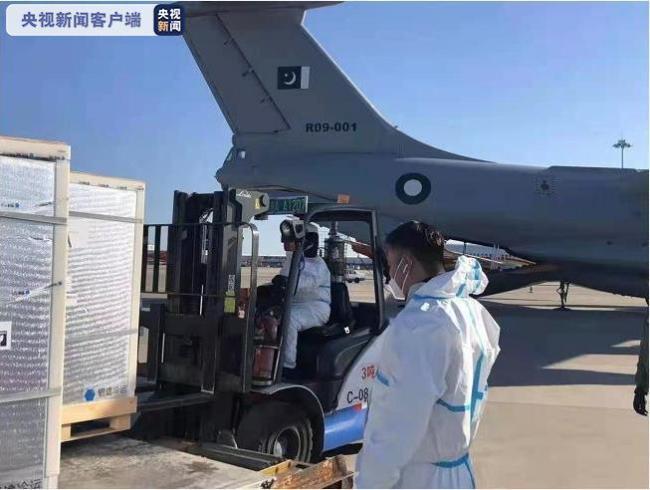 中国军队向巴基斯坦军队紧急提供新冠疫苗