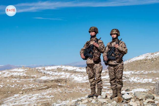 """为祖国和人民守岁,这是军人的""""年"""""""