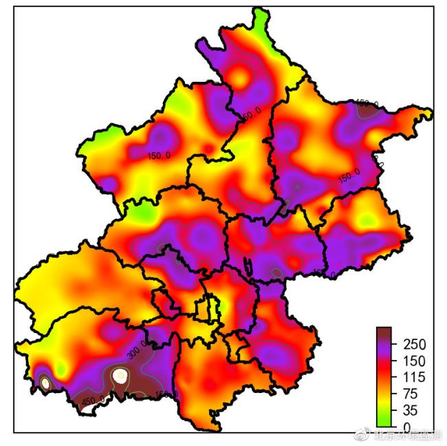 今日将启动空气重污染黄色预警!北京呼吁市民减少燃放烟花爆竹