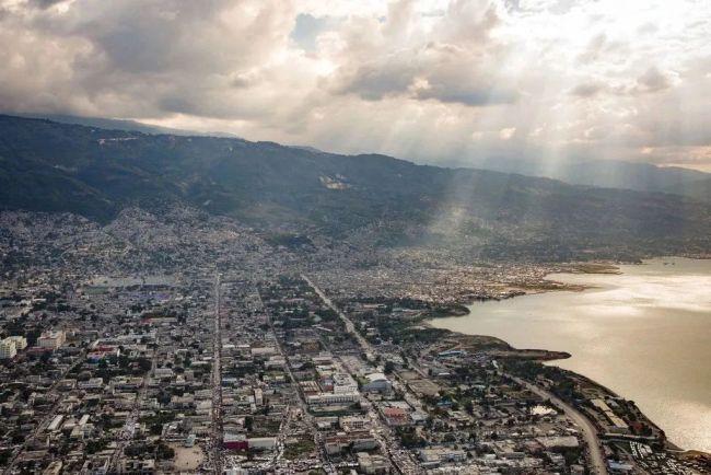 ▲海地首都太子港。图片来自联合国微信公众号。