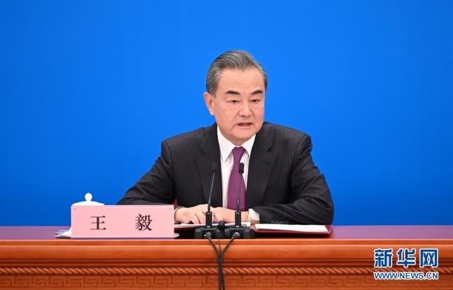 王毅:海峡两岸必须统一也必然统一
