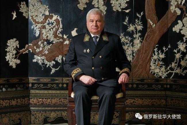 俄驻华大使:还没去过台湾省,愿坐高铁去