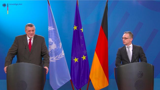 德国外长:利比亚局势在多方努力下已明显好转