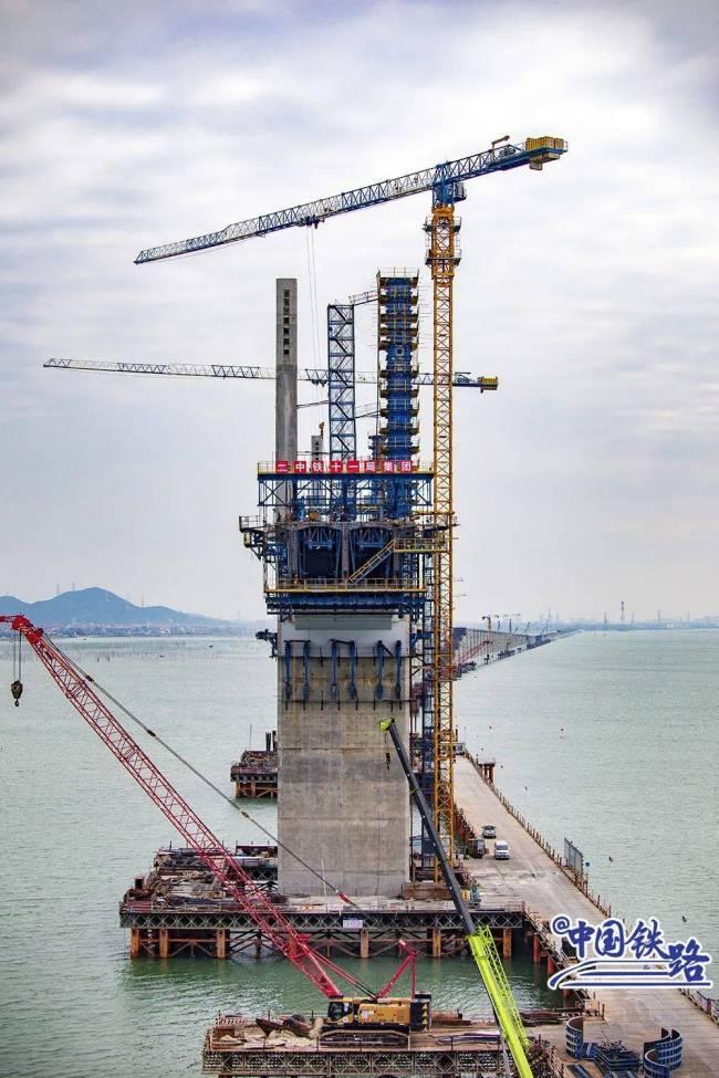 中国首条时速350公里跨海高铁来了 计划2022年通车