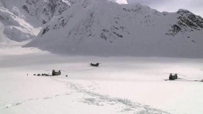 美印计划在喜马拉雅山脉进行训练
