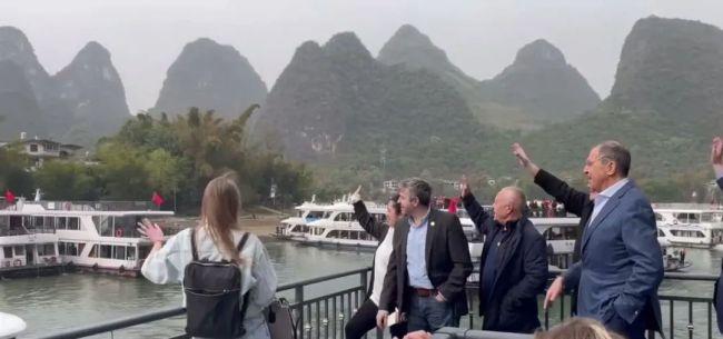 俄外长访华,为什么选在桂林?热评第一亮了!