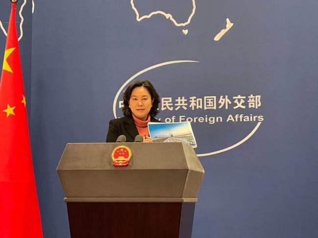外交部:中国老百姓不允许一些外国企业吃中国的饭、砸中国的碗