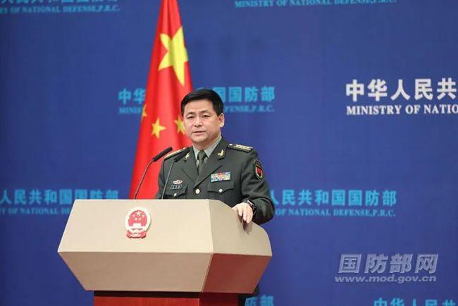 """国防部:中国谁的""""挑战""""都不怕"""