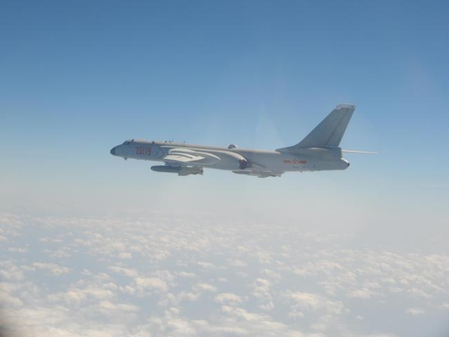 在台军报告中提供的我军轰-6K轰炸机资料照片