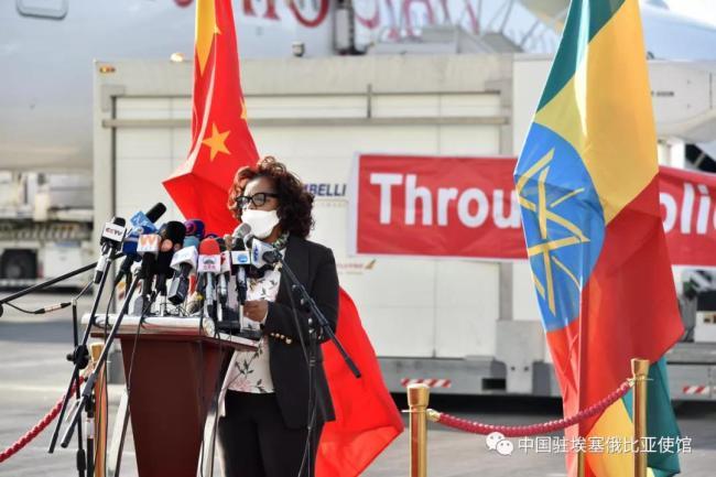 """中方援助疫苗到达,埃塞卫生部长盛赞:中国朋友送来""""及时雨"""""""