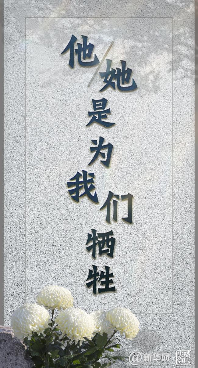 新华网评:他们的名字 我们的历史