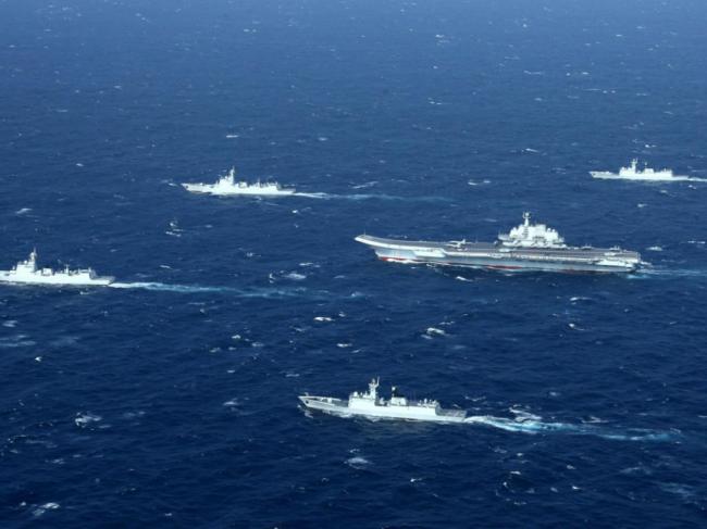 解放军退役中将:航母编队训练或包含解放台湾演训