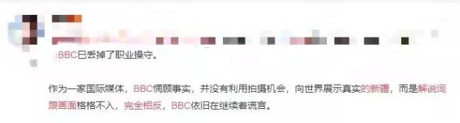 解说词跟画面完全相反!为抹黑 BBC再次炮制假新闻