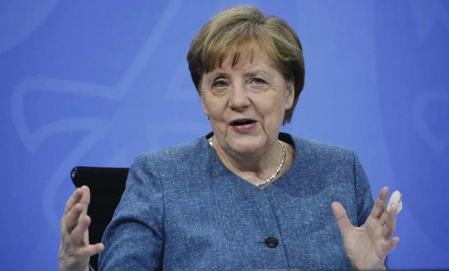 默克尔:缺少中国或与中国对抗,我们都将无法解决