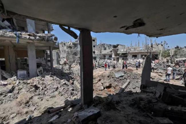 巴以冲突已造成至少122人死亡