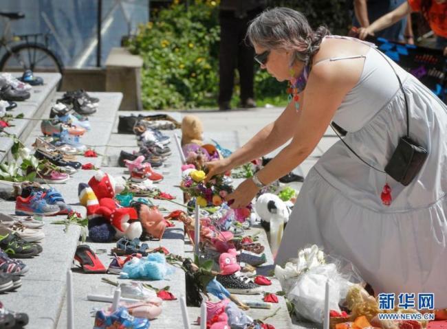 加拿大:悼念原住民寄宿学校儿童