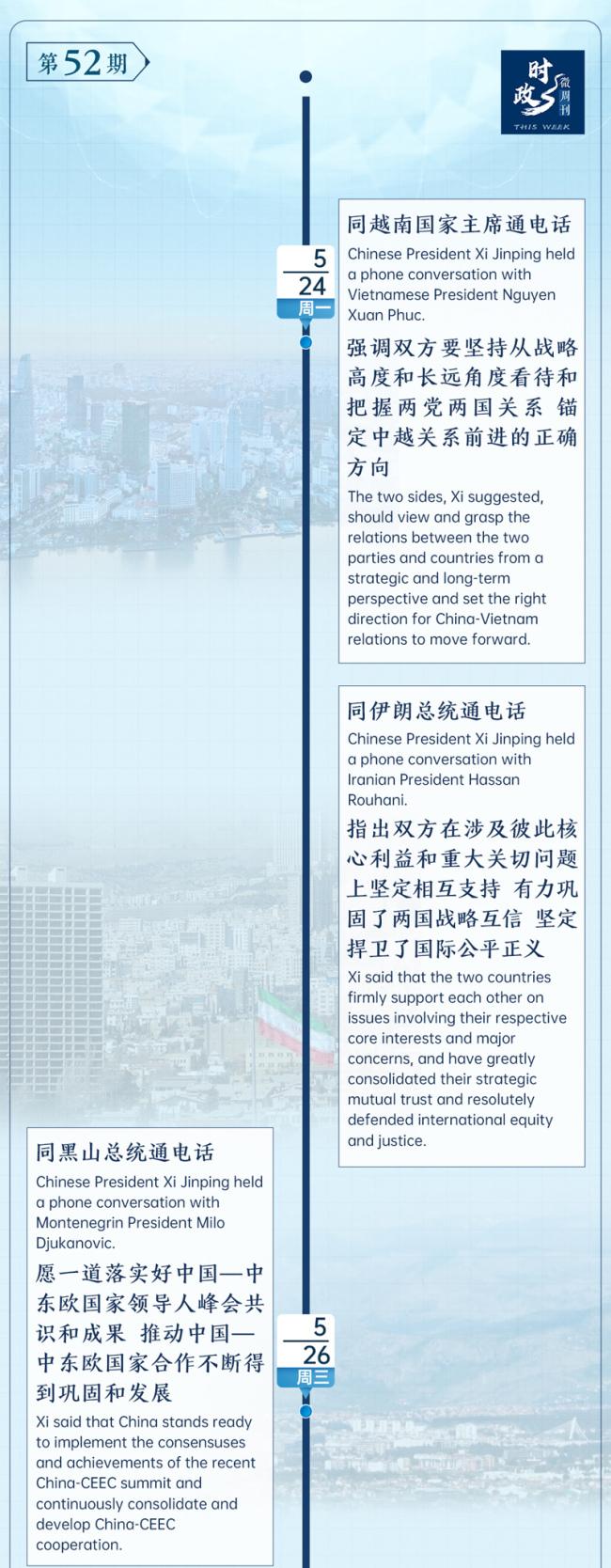 时政微周刊丨总书记的一周(5月24日—5月30日)