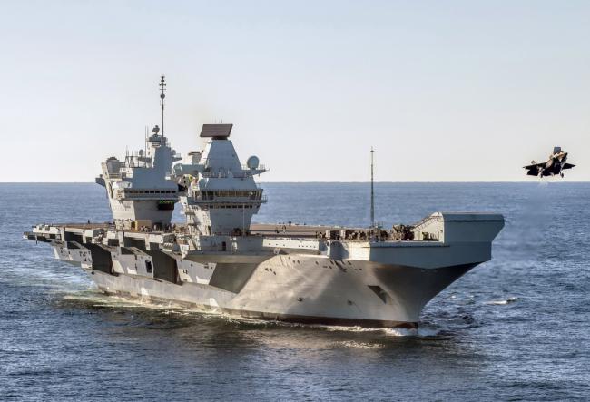 """英国想用""""炮舰外交""""吓唬中国?英媒先泼冷水"""