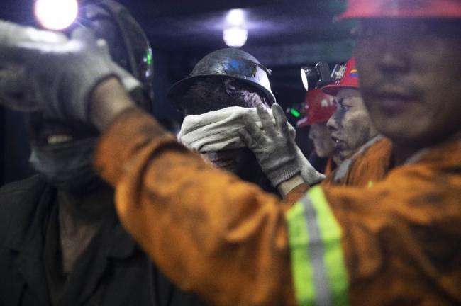 黑龙江:煤矿救援32小时!
