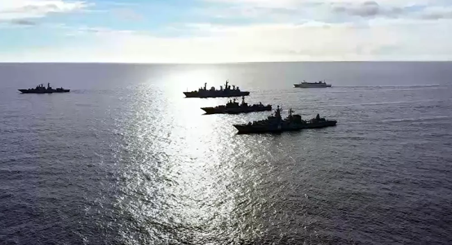 俄太平洋舰队主力出动 前往夏威夷附近反航母演习